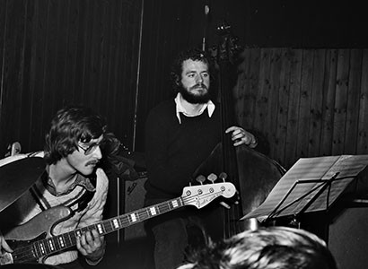 Niels Henning Ørsted Pedersen og Bo Stief  Jazzhus Montmartre