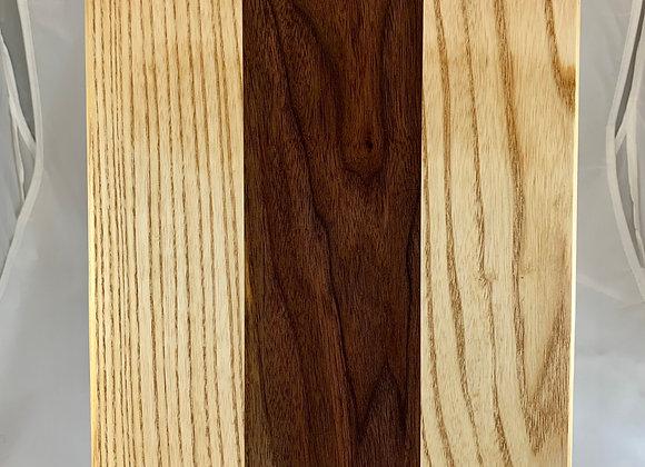 Large Flat Board - Ash & Black Walnut