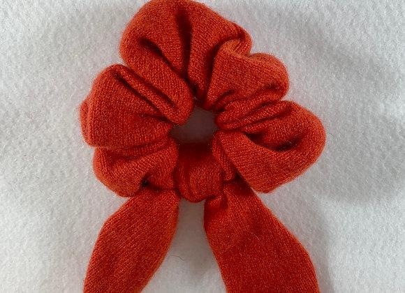 Burnt Orange Cashmere Scrunchie