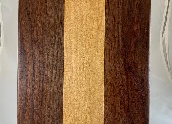 Large Flat Board - Black Walnut and Cherry