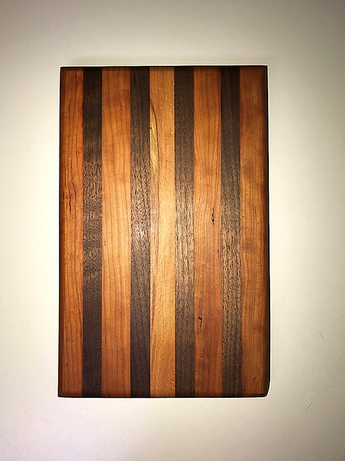 Small Long Grain Black Walnut and Cherry Board
