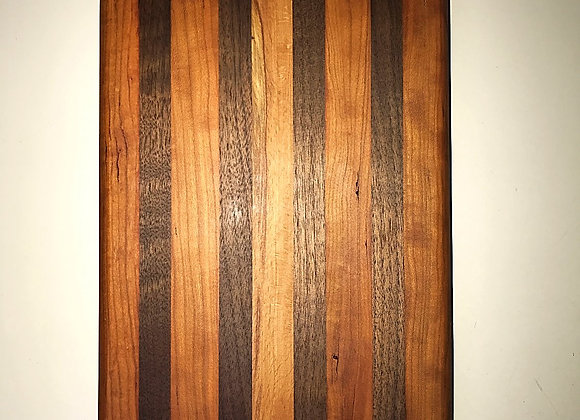 Small Long Grain Black Walnut and Cherry Board