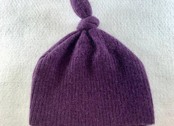Purple Cashmere Beanie