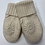 Thumbnail: Winter White Floral Mittens
