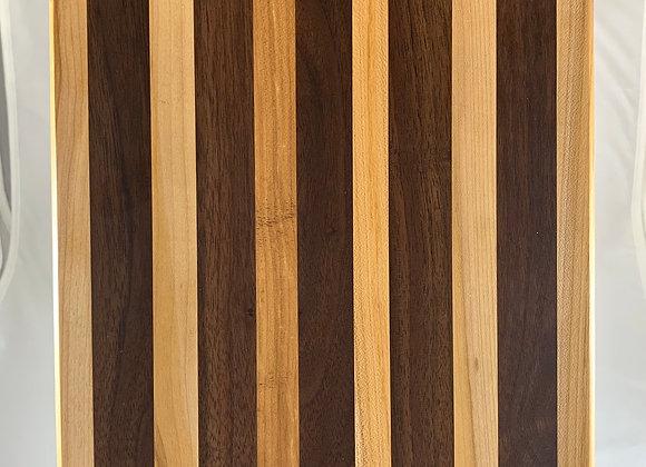 Large Long Grain Board-Black Walnut and Ash