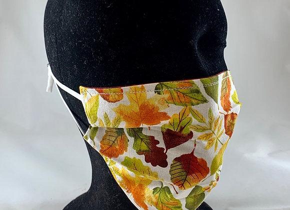 Fall Leaves Reversible Face Mask