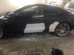 Audi N/S Door & Rear Quarter Panel.
