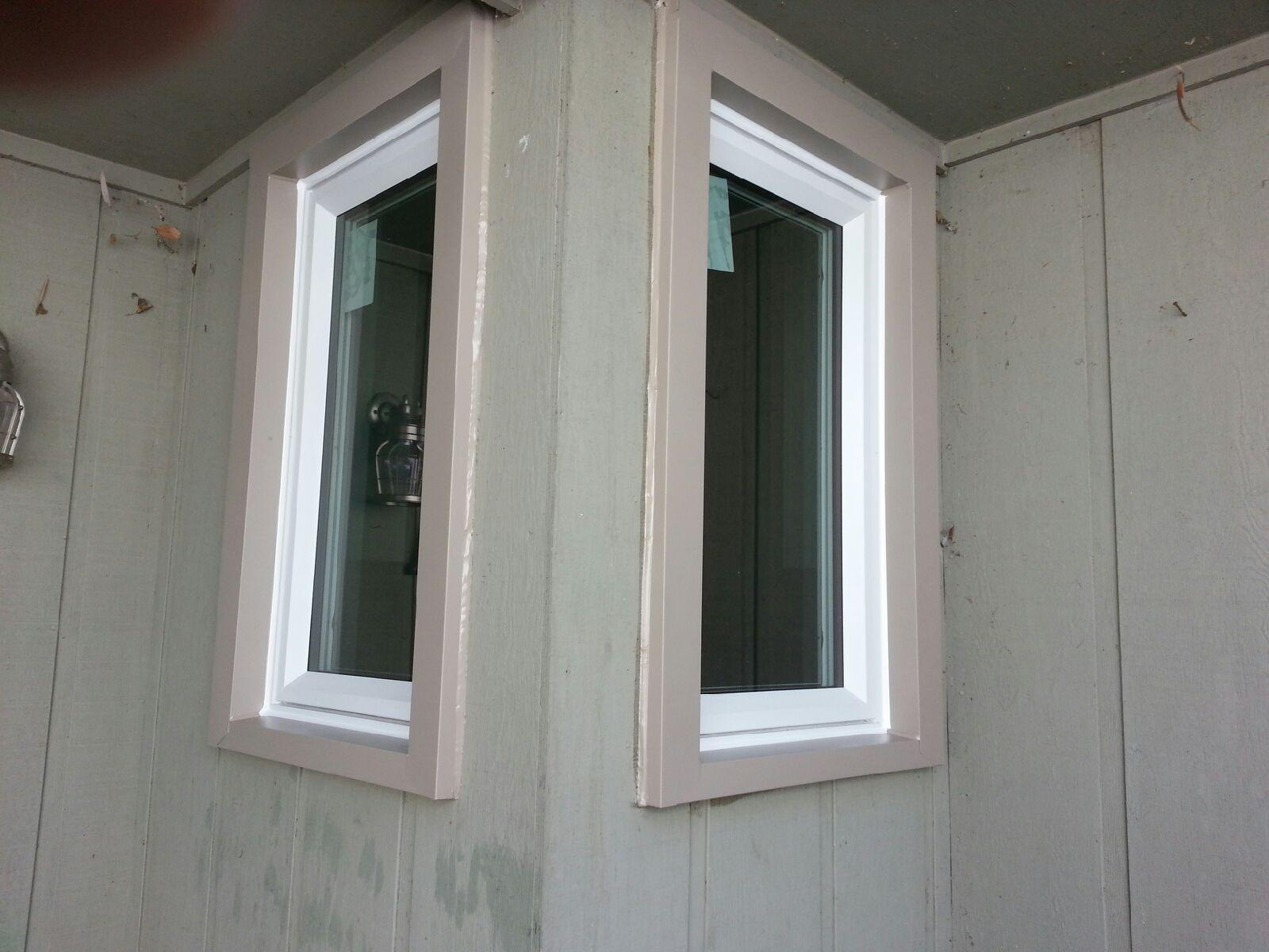Single casement windows
