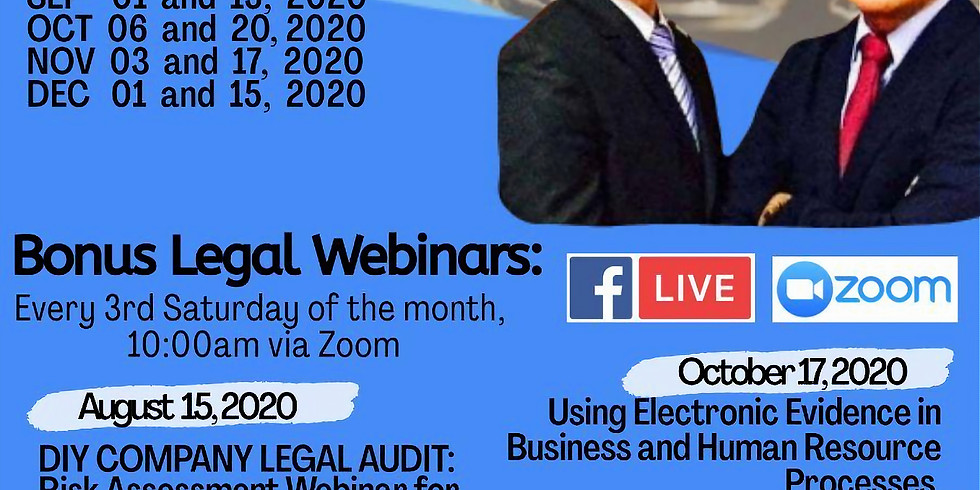 Ask The Business Lawyers November Episode 2