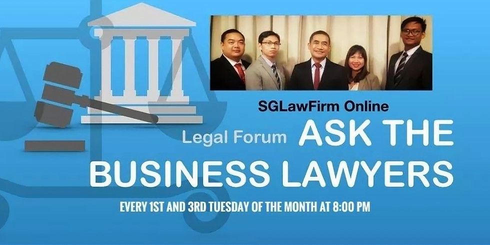 Revitalizing Businesses in 4th Quarter of 2020  - Ask The Business Lawyers 2nd October Episode