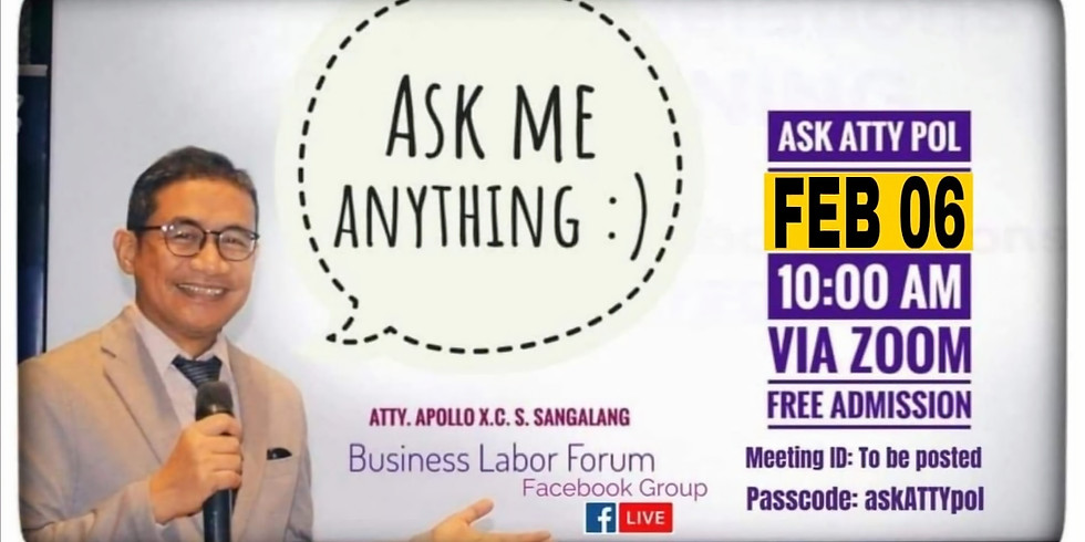 ASK ATTY POL (February Episode)