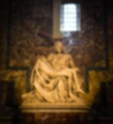 Michelangelo's sublime sculpture, the Pieta