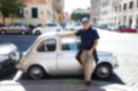 Tiny car in Rome!