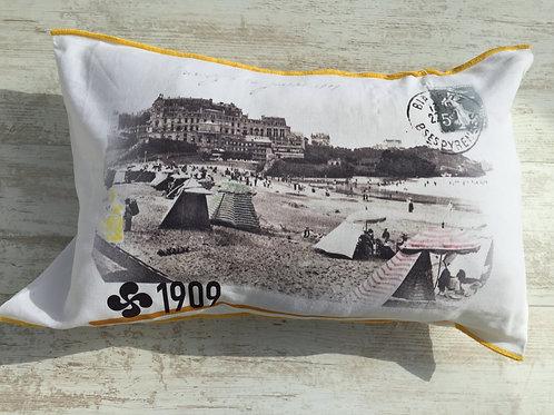 Housse de coussin Germaine Biarritz