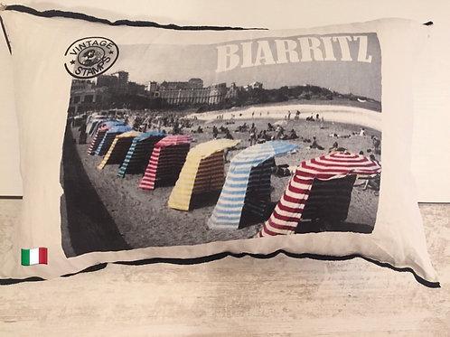 Housse de coussin Germaine  «Biarritz» les tentes