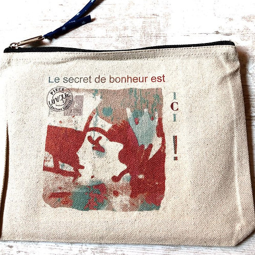 Pochette VictorineW LE SECRET DU BONHEUR