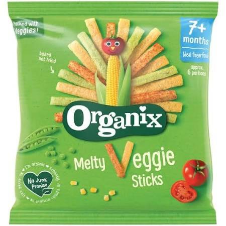 organix - melty veggie sticks