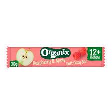 Toddler Snacks Raspberry & Apple Bar