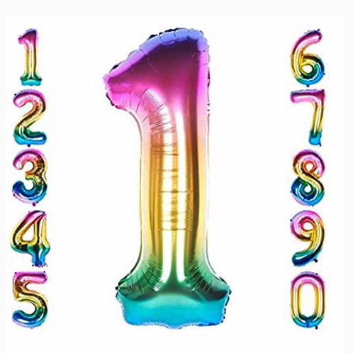 Rainbow Colour Number