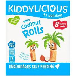 Kiddylicious - coconut rolls