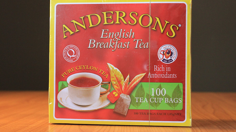Andersons English Breakfast Tea - 100  Teabags x 1.85g