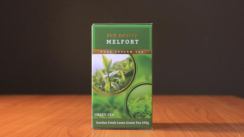 Melfort Green Tea - 100g Box