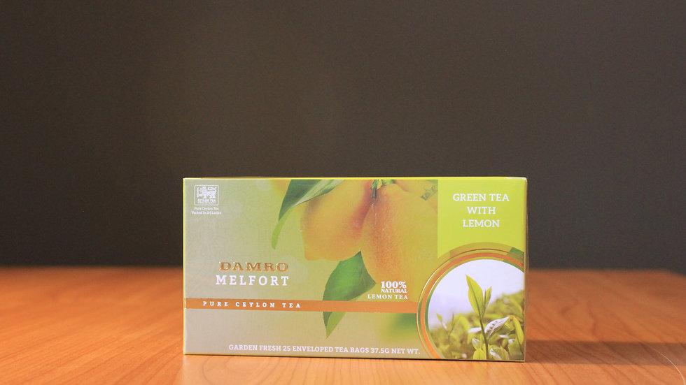 Melfort Lemon  Tea - 25 Enveloped Teabags x 1.5g