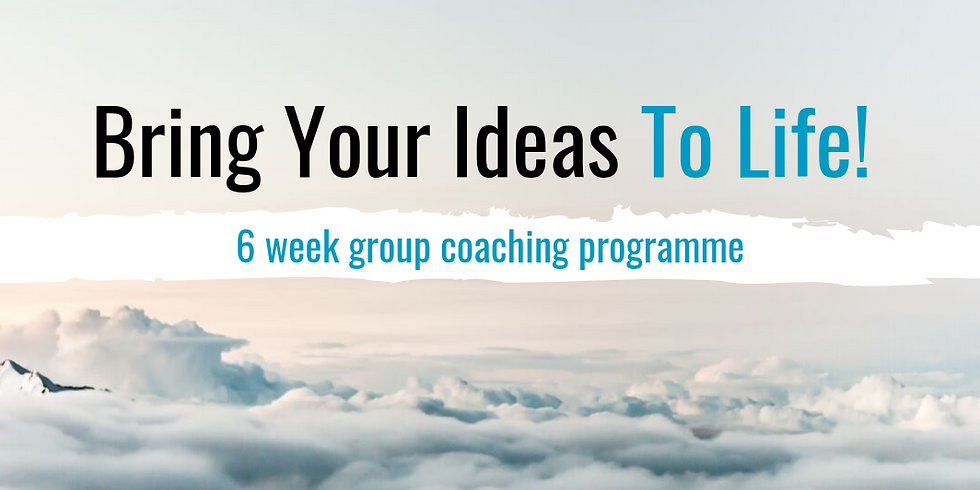 Bring Your Ideas To Life!