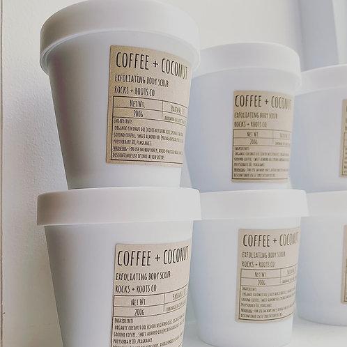 Coffee + Coconut Body Scrub