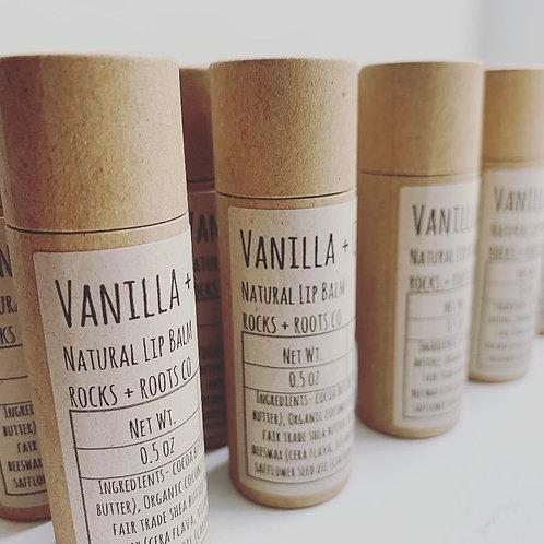 Vanilla +  Coconut Natural Lip Balm