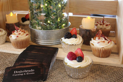 Bacon Maple Cupcakes and Fresh Zuchinni Cupcakes