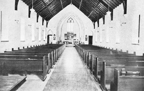 Early Picture-Inside Holy Apostles