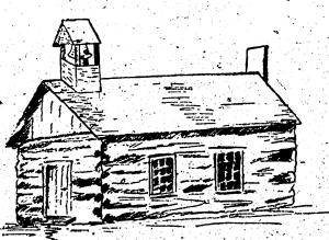 1825 Line drawing - 'Hobart' Church