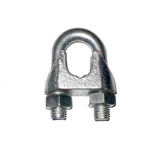 Зажим (хомут) для троса 4 мм