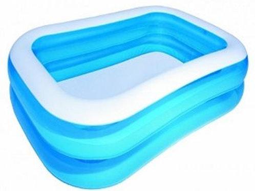 54005 BW, BestWay, Надувной прямоугольный бассейн, 201х150х51 см, 450 л