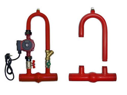 Байпас УНК—3/50 для систем отопления (узел насосный клапанный) Беламос