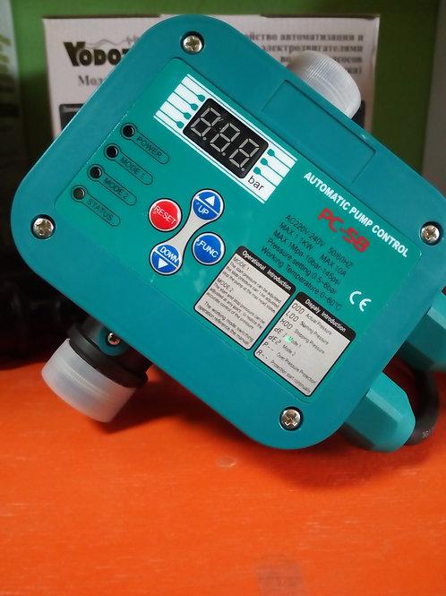 Регулятор давления РС-58 кабель 1.3м и евро вилкой + кабель 0.4м с евро розеткой