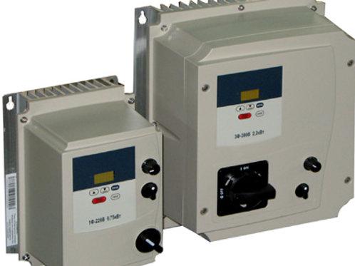 E2-MINI IP65, 1x220, Диапазон мощностей 0,2 кВт – 2,2 кВт