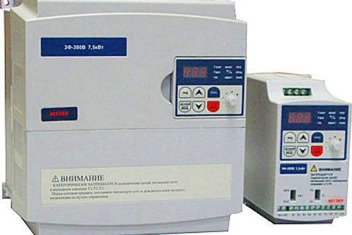 E3-8100, 3x380, Диапазон мощностей 0,2 кВт – 7,5 кВт