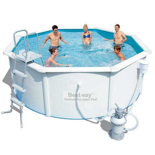 56566 BW, BestWay, Стальной бассейн Hydrium Pool Set 300х120 см, 7630 л