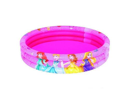 91047 BW, BestWay, Детский круглый бассейн 122х25 см, 140 л, Disney Princess