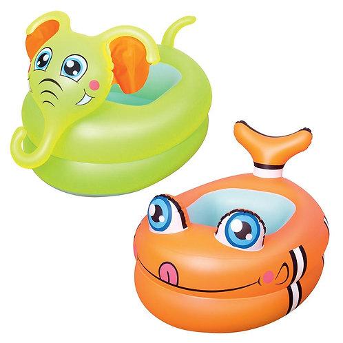 51125 BW, BestWay, Надувной бассейн в виде животных для младенцев