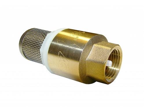 Клапан обратный пруж. Ду20 с фильтром