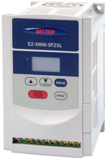 E2-MINI, 3x380, Диапазон мощностей 0,2 кВт – 2,2 кВт