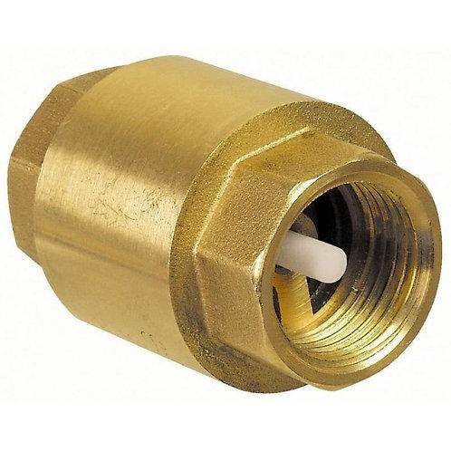 Клапан обратный пруж. Ду25 Ру16 лат. мех. TIM 1/20 усиленный