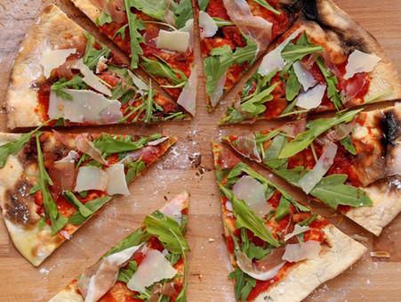 Neapolitanische Pizza – himmlisch fein – aber viel Gluten… 🍕