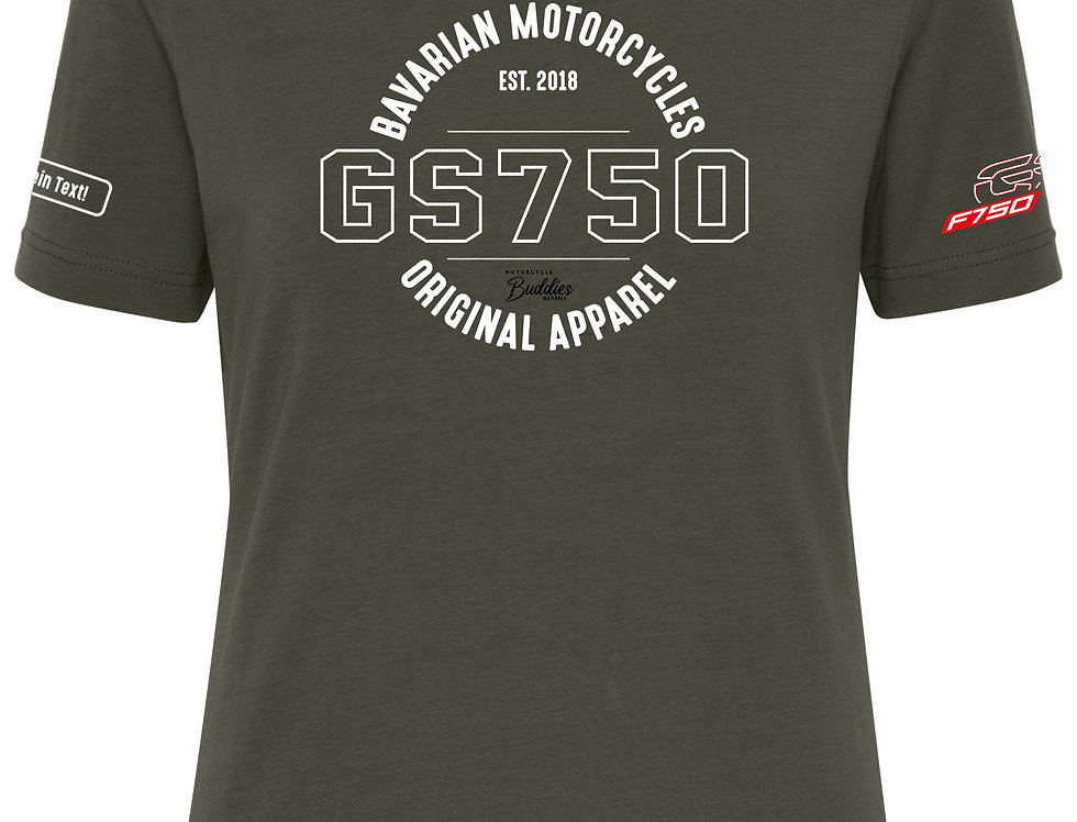 GS 750 Ladies' BIO T-Shirt