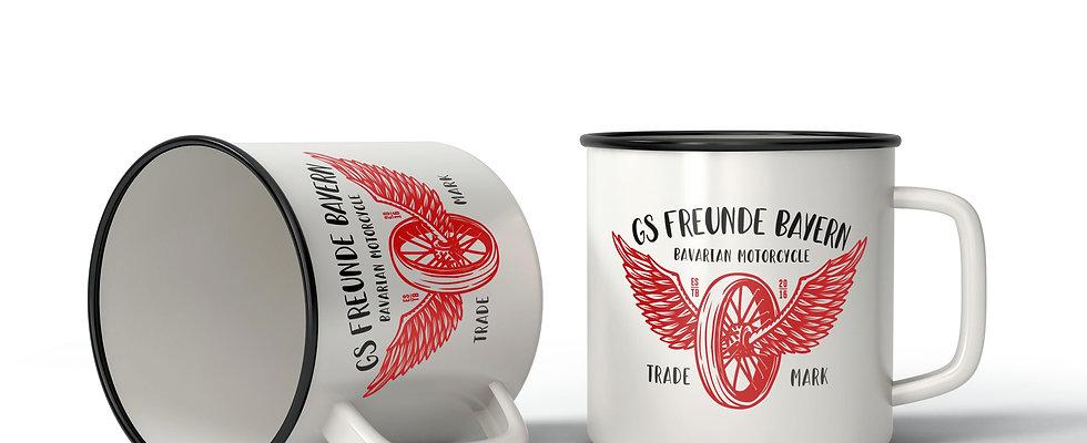 GS Freunde Vintage Tasse