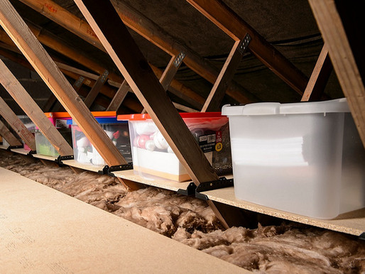 7 Tips for Organising Loft Shelves to Declutter Your New Home