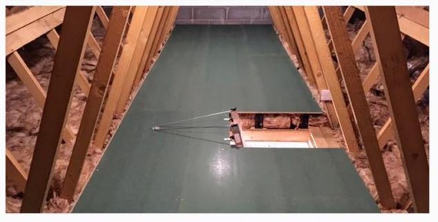 Loft Boarding with Loft Leg
